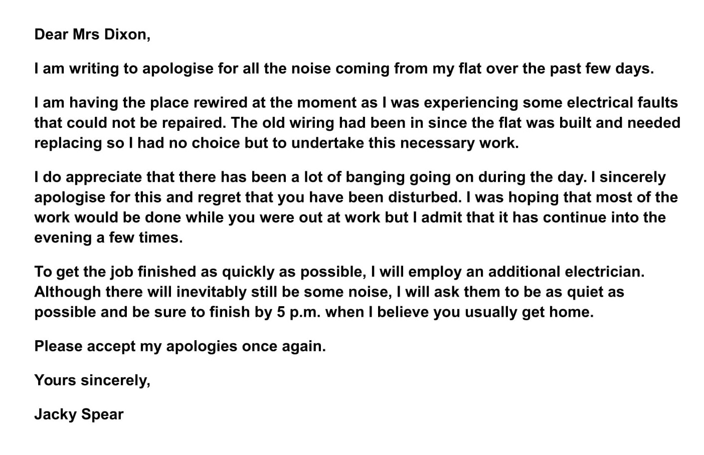 Apology Letter To A Friend from www.ieltsjacky.com