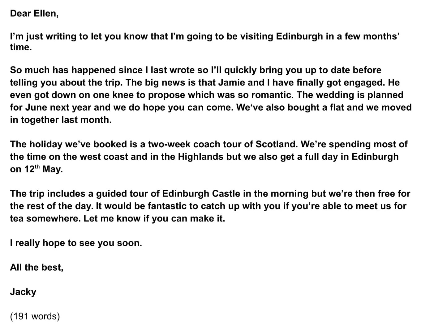 Letter Format To A Friend from www.ieltsjacky.com