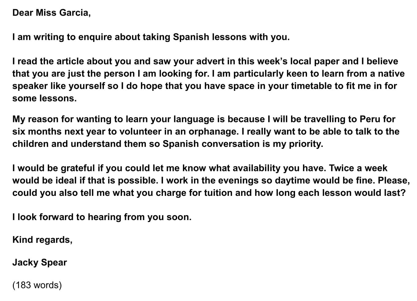 ielts sample letters  how to write a request letter